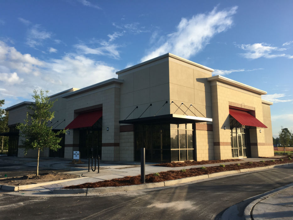 Shown Friday Morning, A Building Near Independence Boulevard At The Pointe  At Barclay Will Hold A Starbucks With A Drive Through, An Office For  Intracoastal ...