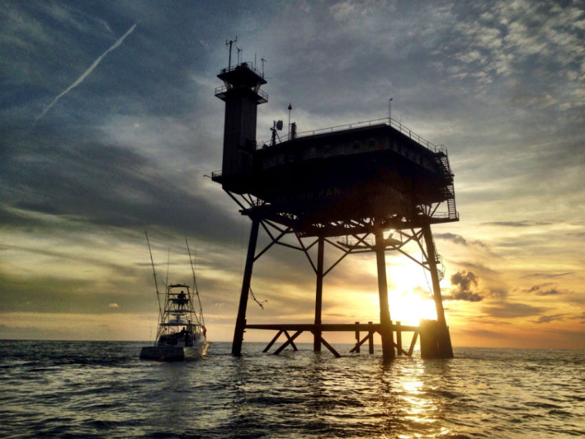 Owner Ends Auction For Frying Pan Tower