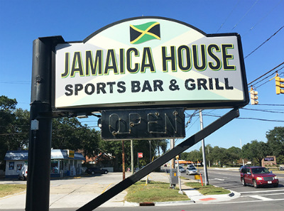Jamaica House Sports Bar U0026 Grill Is Expected To Open Later This Month On  Carolina Beach Road. (Photo By Jessica Maurer)
