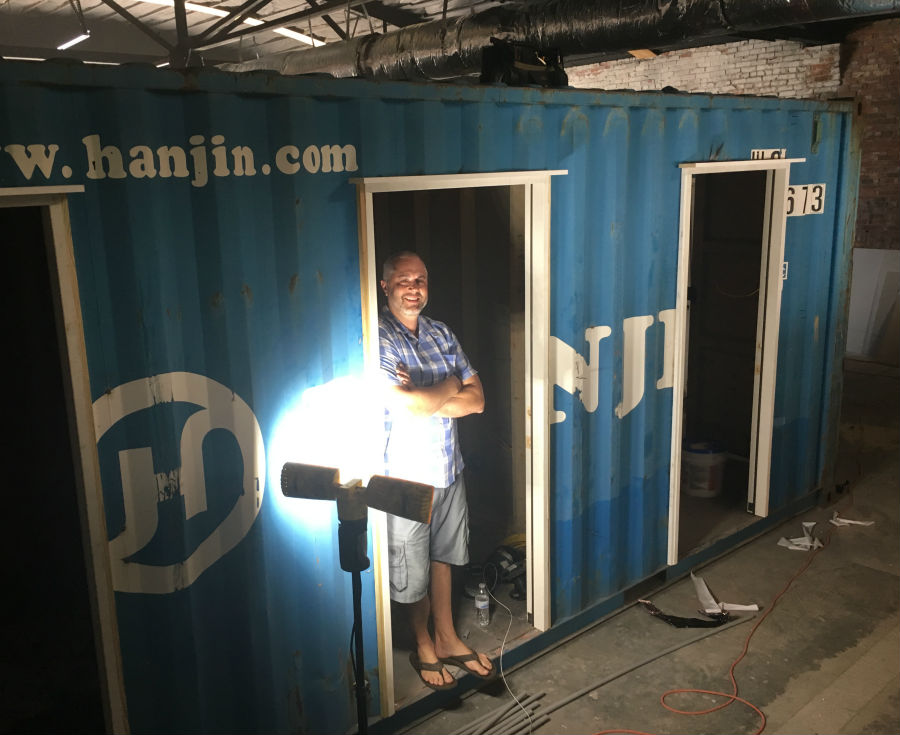 Coworx SISDigital moving into new shipping container village