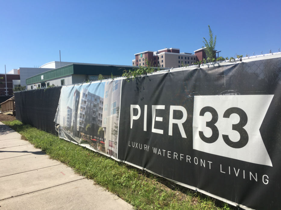 The Pier 33 Apartments Project Is Planned On Land At 901 Nutt St Near The Wilmington Convention Center Photo By Cece Nunn