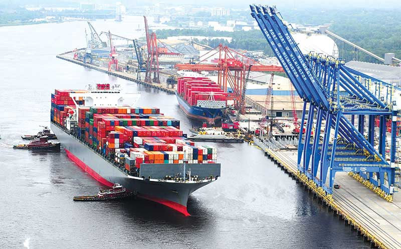 Port of Wilmington sets record in annual container traffic